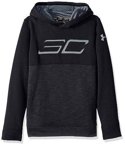 fb618f415 Amazon.com  Under Armour Boys  SC30 Fleece Logo Hoody  Sports   Outdoors