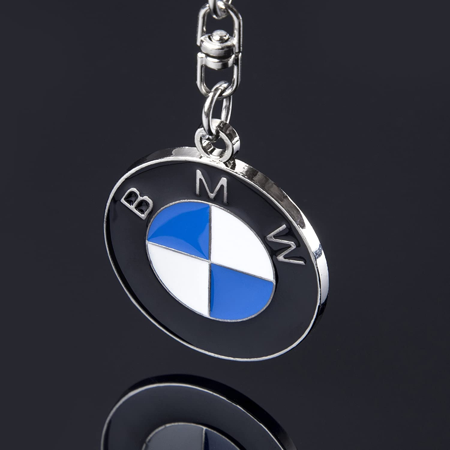 Car Key Chain Rings Benz ACGOING 3D Premium Metal Alloy Key Holder Best for Gifts
