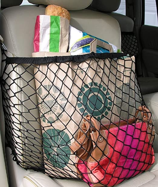 Netcessity Car Seat Organizer//Collapsible Seat Caddy