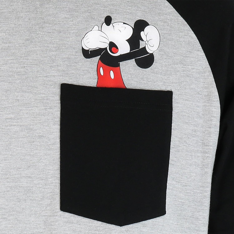 Disney Mickey Mouse Mens Mickey Mouse Pajamas at Amazon Mens Clothing store: