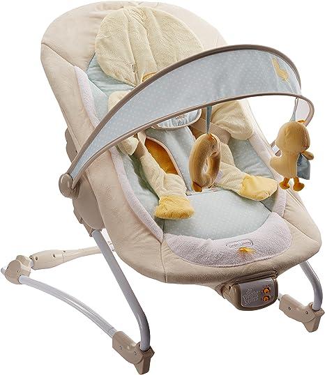 Bright Starts 6978 - Hamaca para bebé con vibración, música y ...