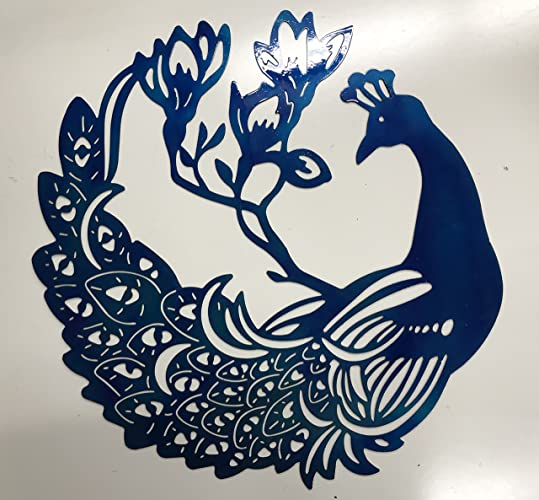 Amazon Large Peacock Metal Sign Wall Art Home Decor FREE