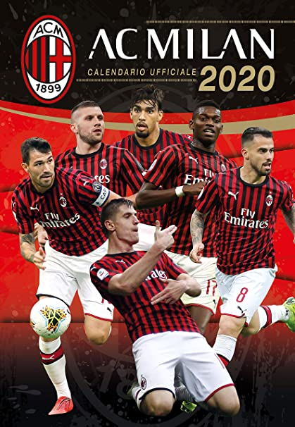 Milan Ac Calendrier.Milan 2020 Officiel Calendrier 29x42 Amazon Fr