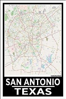 Amazon.com : San Antonio, Texas Zip Codes - 36\