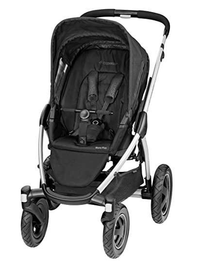 Maxi-Cosi Mura Plus 4 ruedas carrito (moderno), color negro: Amazon ...