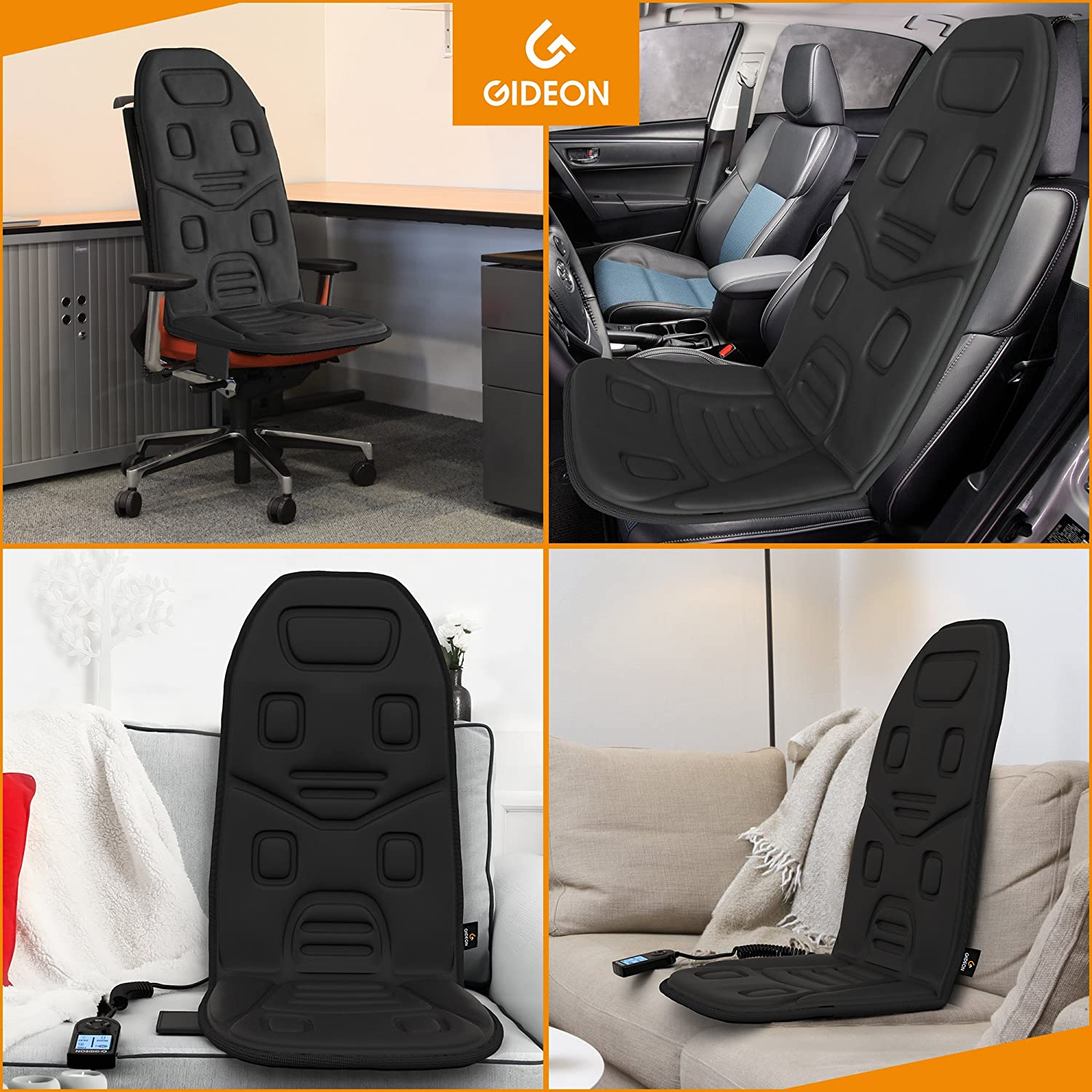 Amazon Gideon™ Powerful Vibrating Massager Seat Cushion