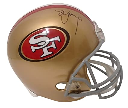 San Francisco 49ers Steve Young Signed Hand Autographed SF Fortyniners  Riddell Full Size Football Helmet with 19b0400c9