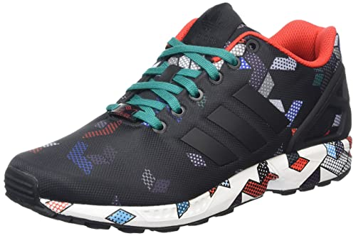 adidas ZX Flux, Men's Trainers, Black - Schwarz (Core Black/Core Black