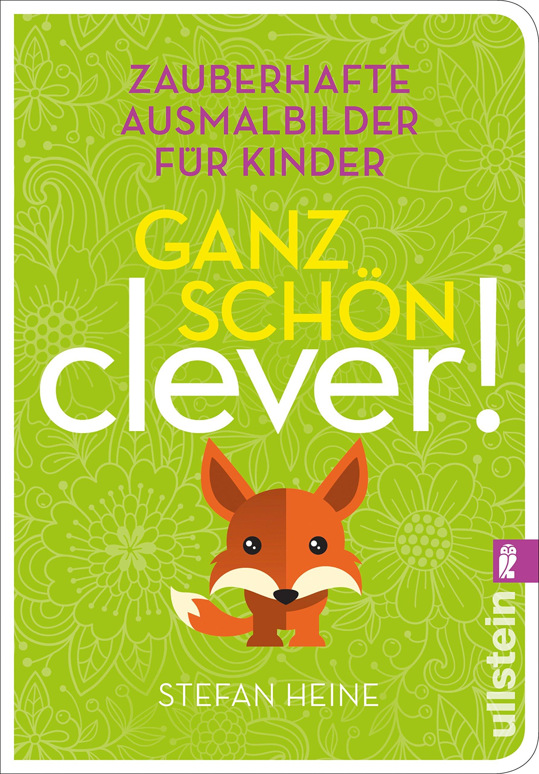 Ganz schön clever! 4 : Zauberhafte Ausmalbilder für Kinder: Amazon ...