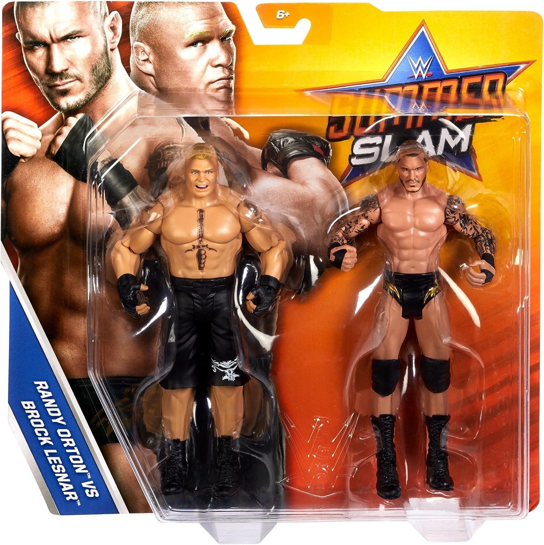 WWE SummerSlam Brock Lesnar /& Randy Orton 2-Pack