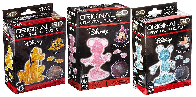 値段が激安 元3dクリスタルパズルBundle Mouse – Mickey Mouse Minnieマウス、and , Pluto Minnieマウス、and Pluto B076RPT1H9, 快適ホーム:a085fb27 --- clubavenue.eu