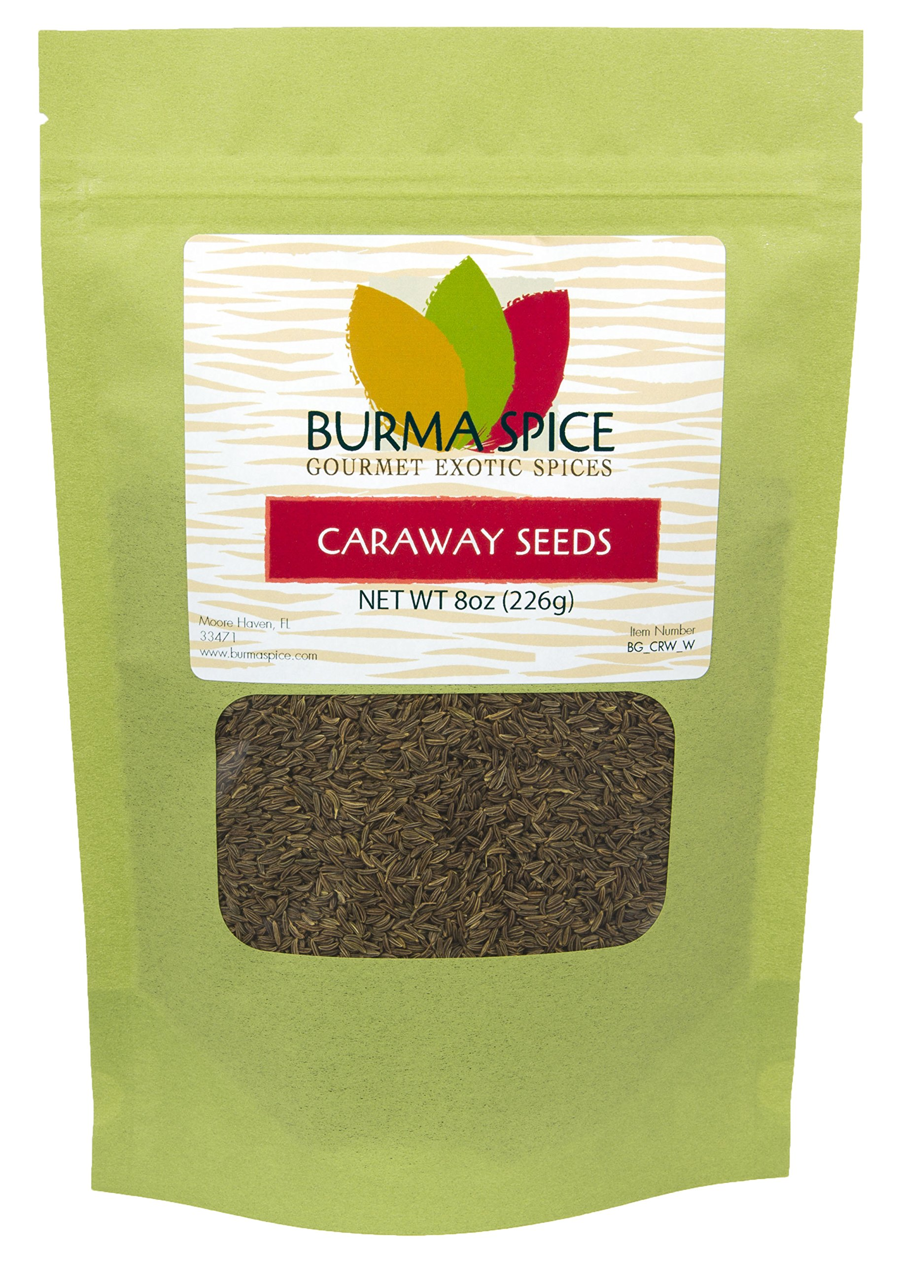 Whole Caraway Seeds : Pure Natural Dried Herb Seasoning Spice : Kosher Certified (8oz.)