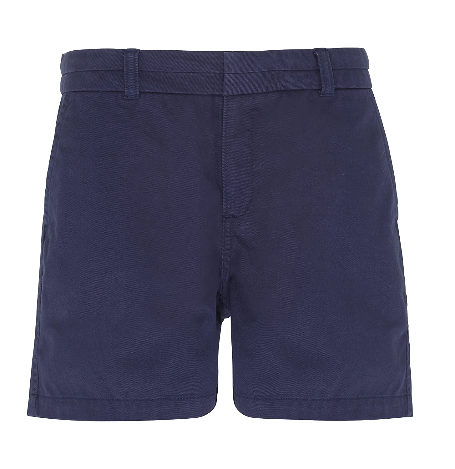 Asquith & Fox Women's Chino Shorts. XS - 2XL AQ061