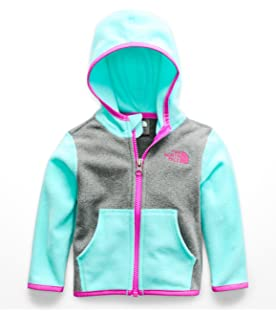 The North Face Baby Girls Glacier Full Zip Hoodie (Infant)