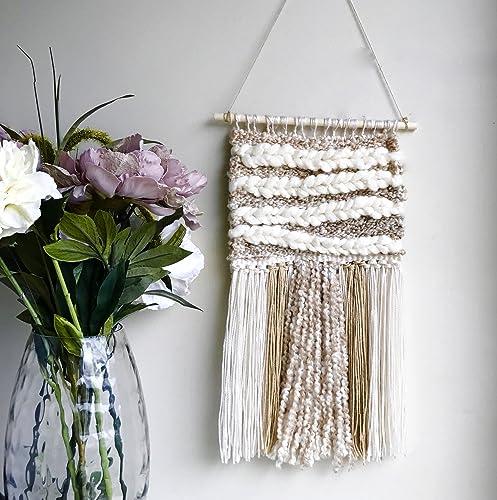 Amazon.com: Woven Wall Hanging/Boho Wall Hanging/Modern Tapestry ...