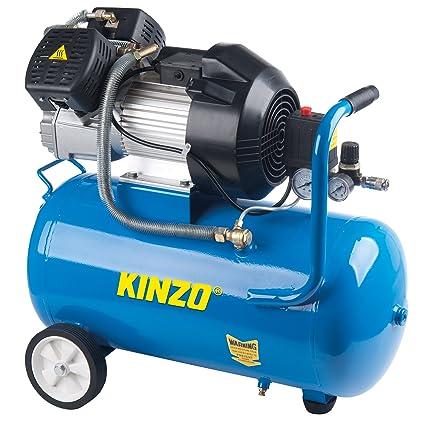 KINZO 71902 - Compresor de aire (2200W), color: azul