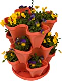 """13"""" Self Watering 3-Tier Stackable Hanging Planter with Chain by Trademark Innovations"""