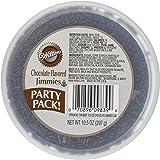 Wilton 710-9839 Chocolate Jimmies Tub Food Decorative, 10.5-Ounce