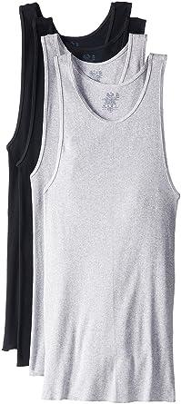 Amazon.com: Fruit of the Loom Men's Big Contour Fit A-Shirt(Pack ...