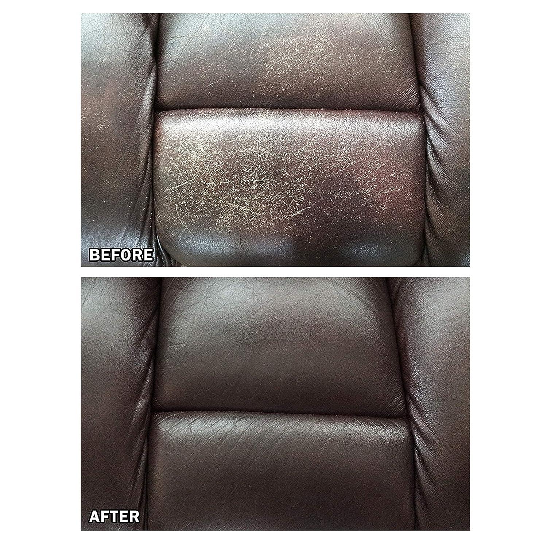 Amazon.com: Liquid Leather Kit de reparación de cuero y ...