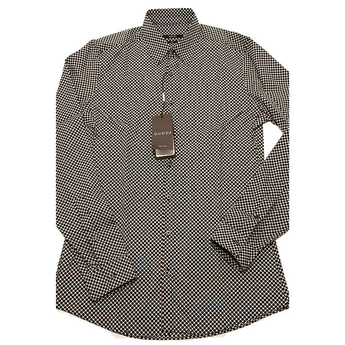 95647 camicia GUCCI SLIM MANICA LUNGA camicie uomo shirt men [15.3/4 (40