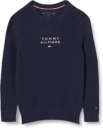 Tommy Hilfiger TH Logo Sweater Suéter para Niños