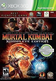 Mortal Kombat: Komplete Edition - Xbox 360: Whv     - Amazon com
