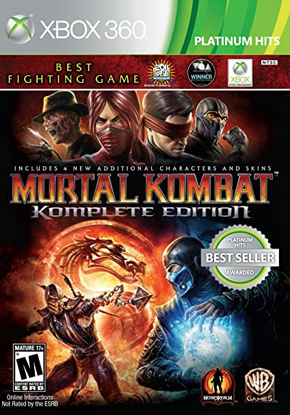 Amazon Com Mortal Kombat Komplete Edition Xbox 360 Whv Games