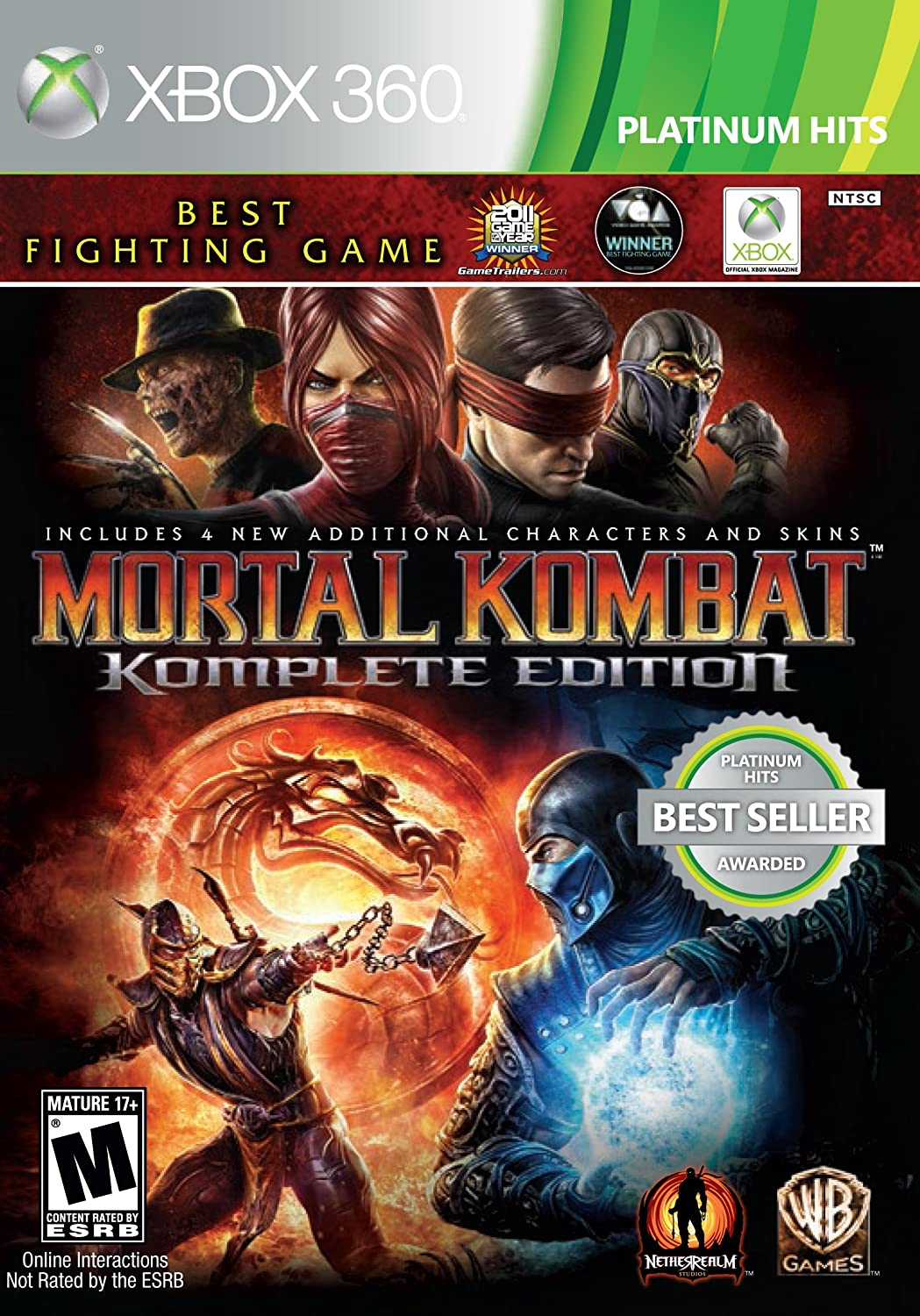 Mortal Kombat: Komplete Edition - Xbox 360: Amazon co uk: PC