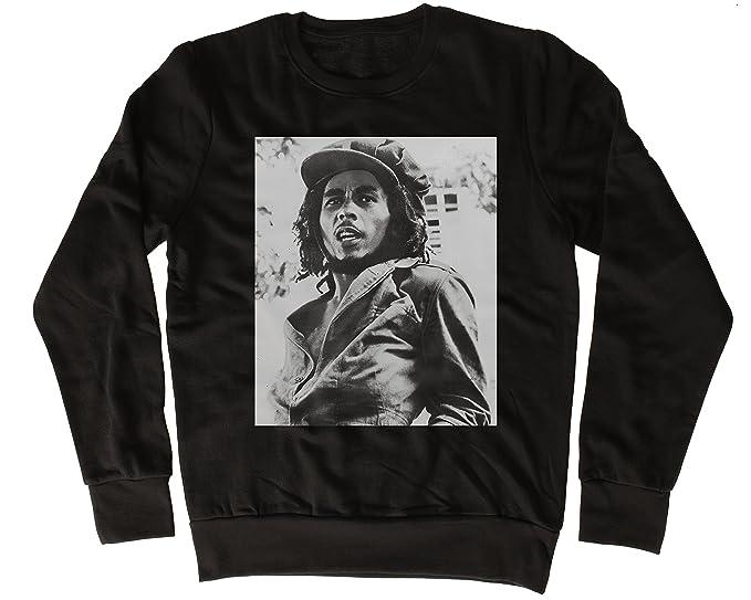 Bob Marley Poster Fresca, Regalo, Diseñada, Sudadera Unisex: Amazon.es: Ropa y accesorios