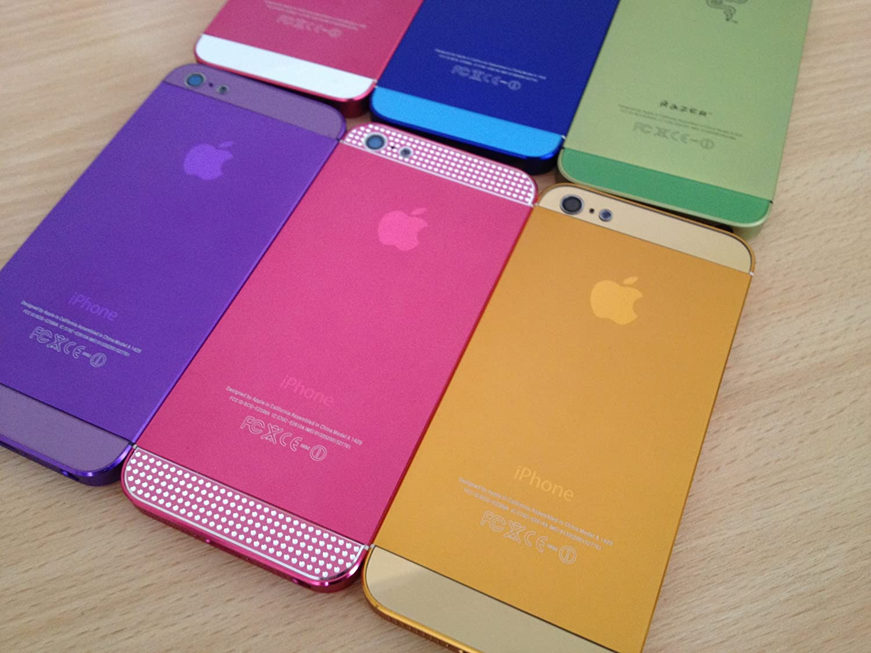 iphone 5 color anodized original aluminium Middle+Back Cover Housing ...