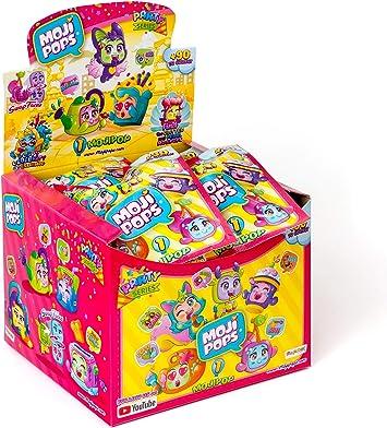 MojiPops Party - Display de 24 figuras coleccionables MojiPops: Amazon.es: Juguetes y juegos