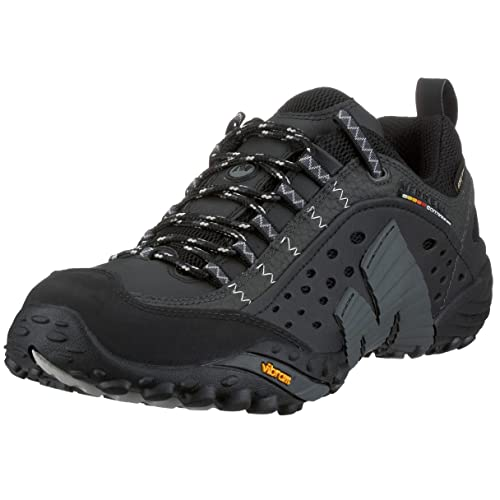 Merrell INTERCEPT GTX - Scarpe da Trekking per Uomo Nero Size  40   Amazon.it  Scarpe e borse 05c52c78cae