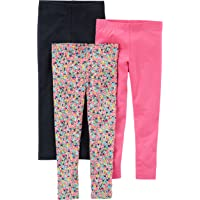Carter's Baby Girls' 3-Pack Legging