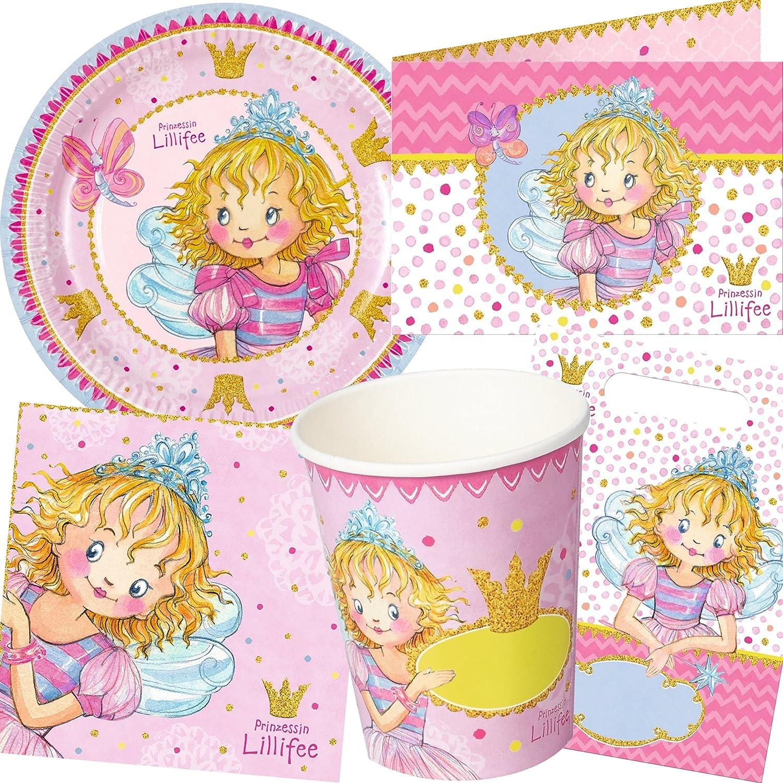 Prinzessin Lillifee Party Set * * de 104 piezas para niños ...