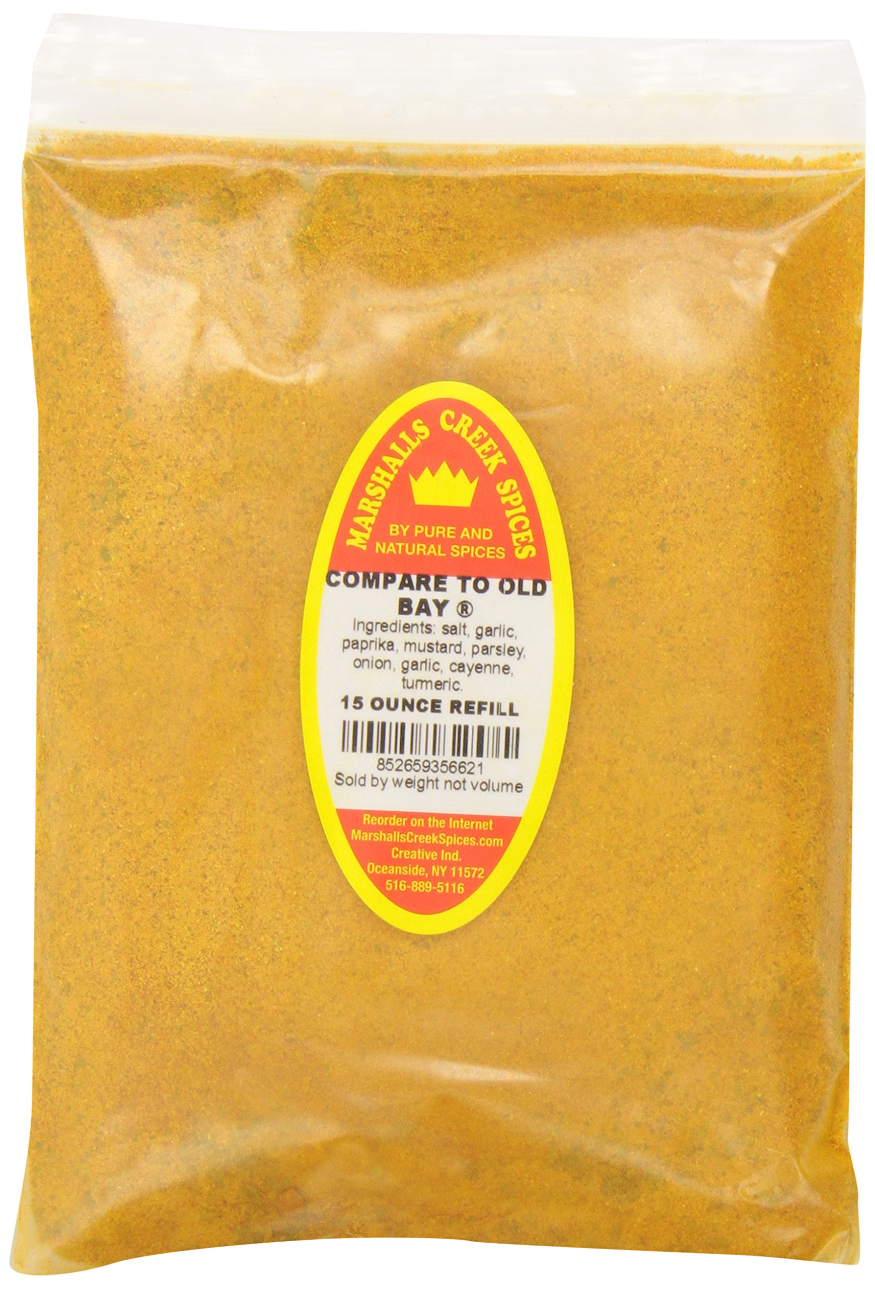 Marshalls Creek Spices Old Bay Seasoning Refill, 18 Ounce (Pack of 12)