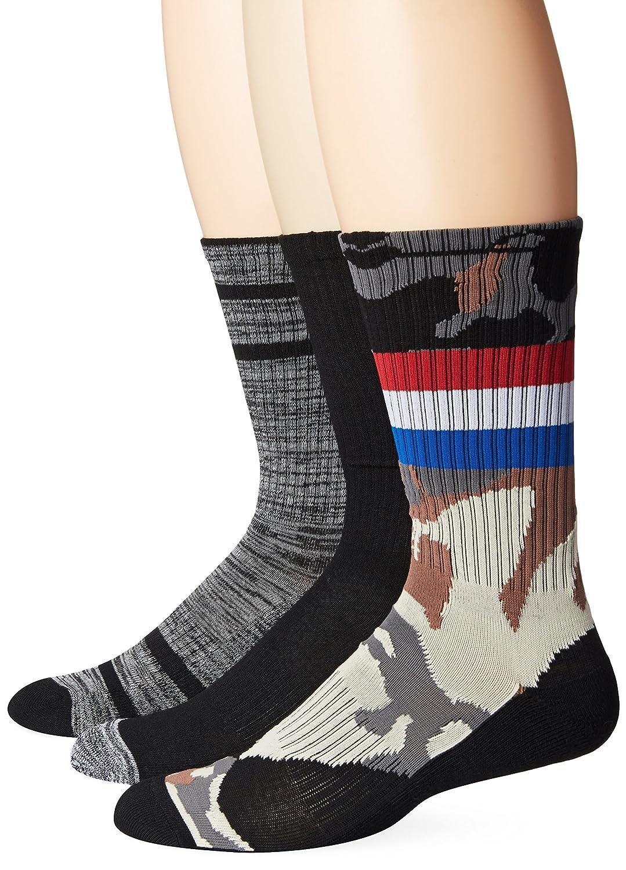 UNIONBAY Men's Athletic Fashion Crew Camo/Grey/Black UNIONBAY Mens Socks UBM2314