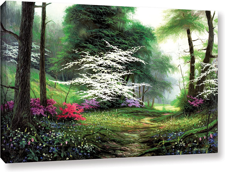 Egidio Antonaccio Floral Splendor Gallery Wrapped Canvas 18X24