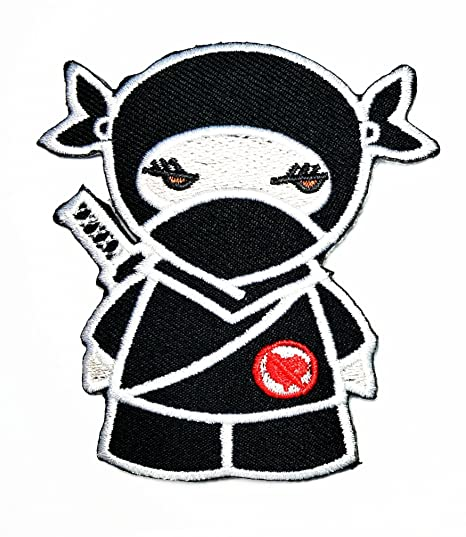 Negro Ninja Japón Cartoon película Patch Kid Baby Boy ...