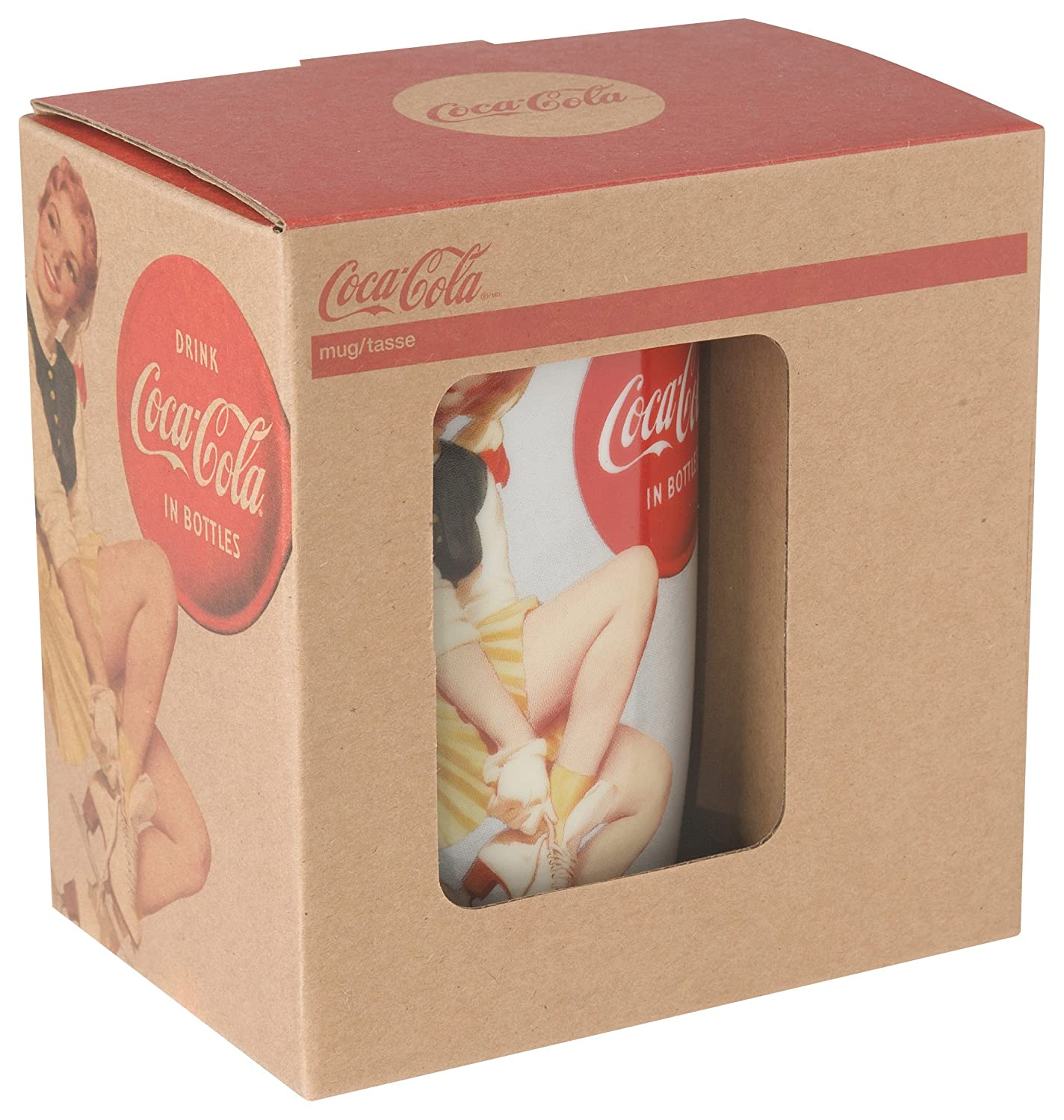 Coca-Cola Presented by Now Designs Stars and Snowflakes Mug