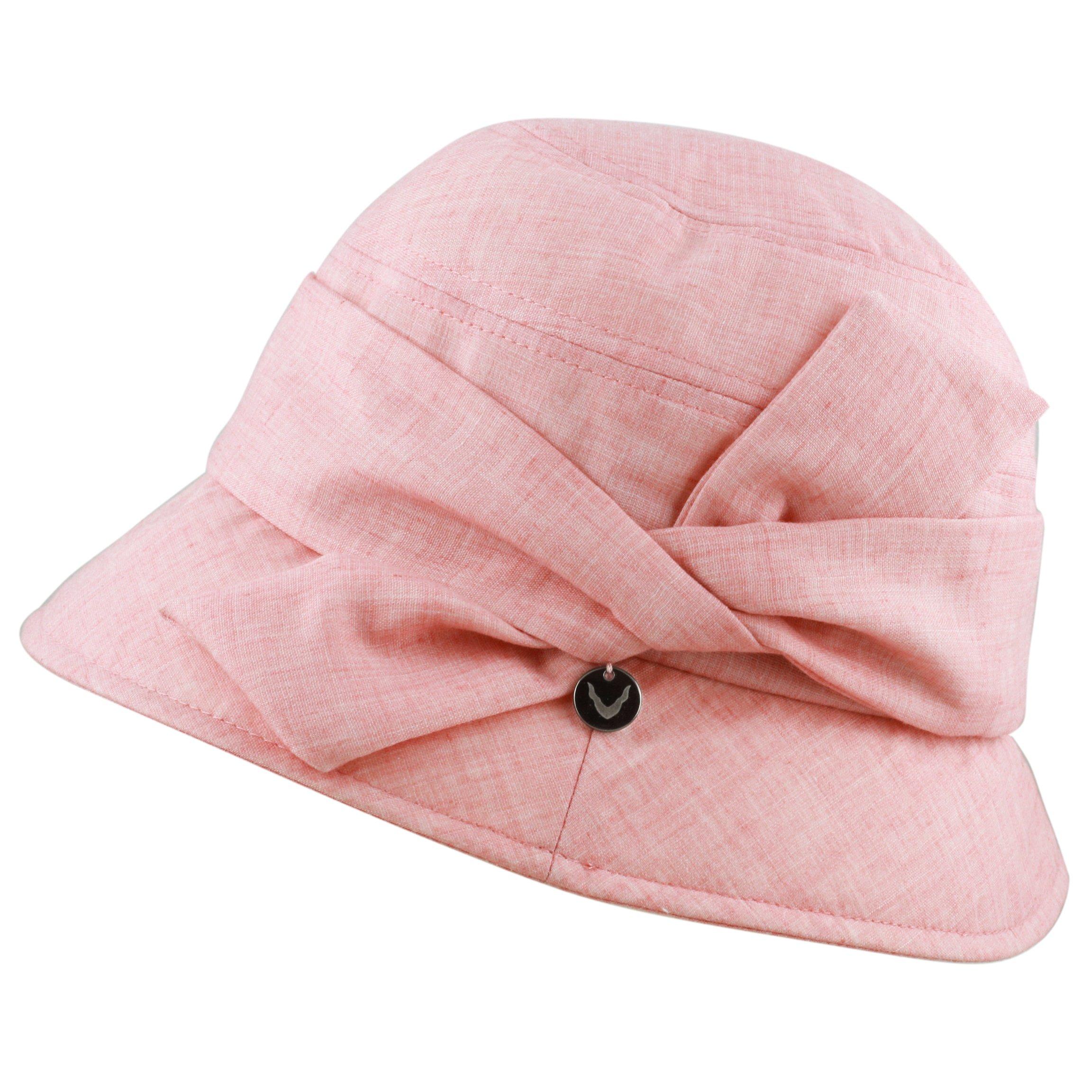 BLACK HORN Ladies Packable Women's Sun Beach Bucket Hat (Helene-Pink) by BLACK HORN (Image #2)