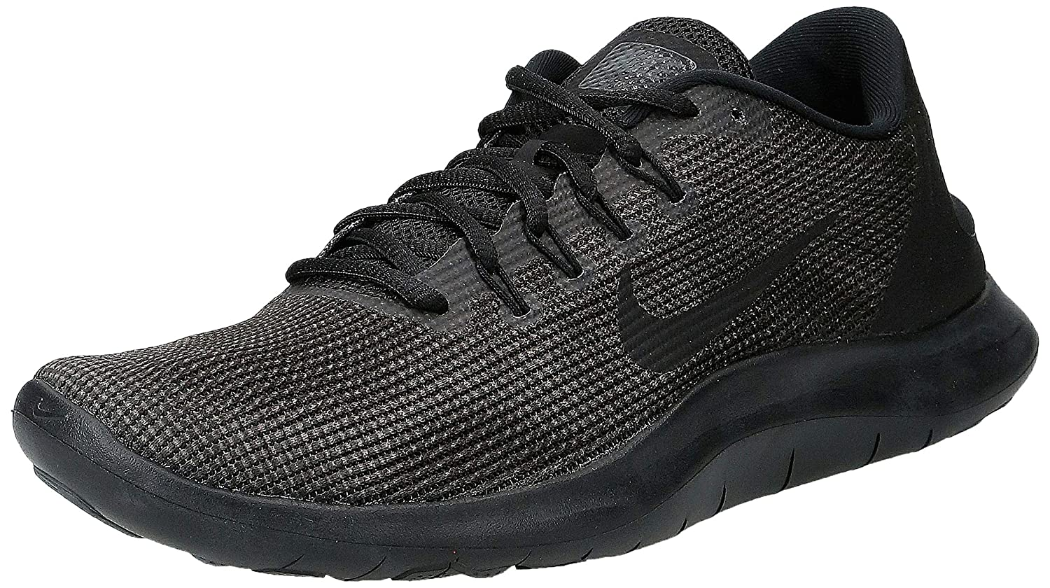 Nike Men s Flex RN 2018 Running Shoe Black Dark Grey Anthracite Size 10 M US