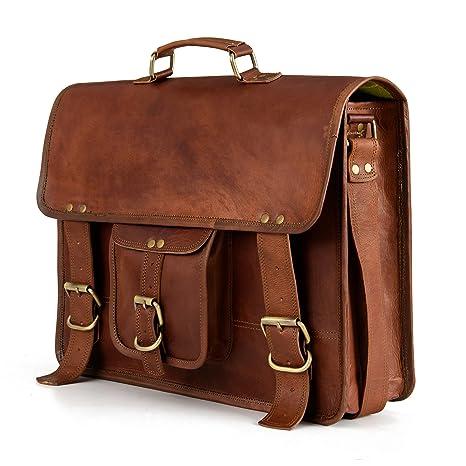 8deb0d4abf Berliner Bags Berlin XL Umhängetasche aus Leder Messenger Aktentasche  Tragetasche Laptoptasche 15
