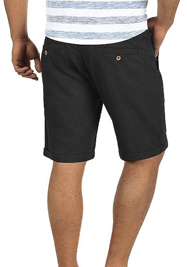 BLEND Nolito Herren Chino-Shorts kurze Hose Business-Shorts hochwertiger  Leinen-Baumwollmischung: Amazon.de: Bekleidung