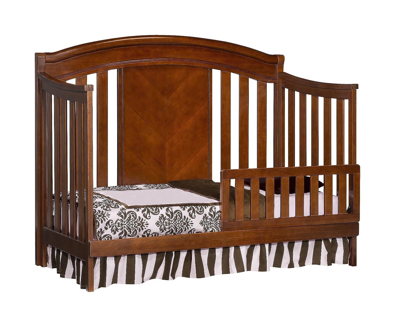 Amazon.com : Simmons Slumber Time Elite 4 In 1 Convertible Kids Crib,  Espresso Truffle : Baby