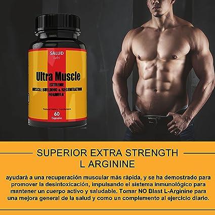 Amazon.com: Extra Strength Suplemento Vitaminas para Musculos | Suplementos para Ganar Masa Muscular y Perder Grasa | Pastillas para Aumentar Musculo ...