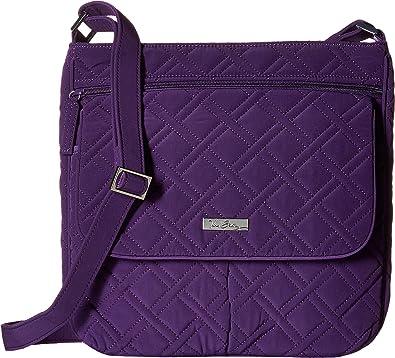 Vera Bradley Women s Double Zip Mailbag Elderberry Cross Body ... c503c18669