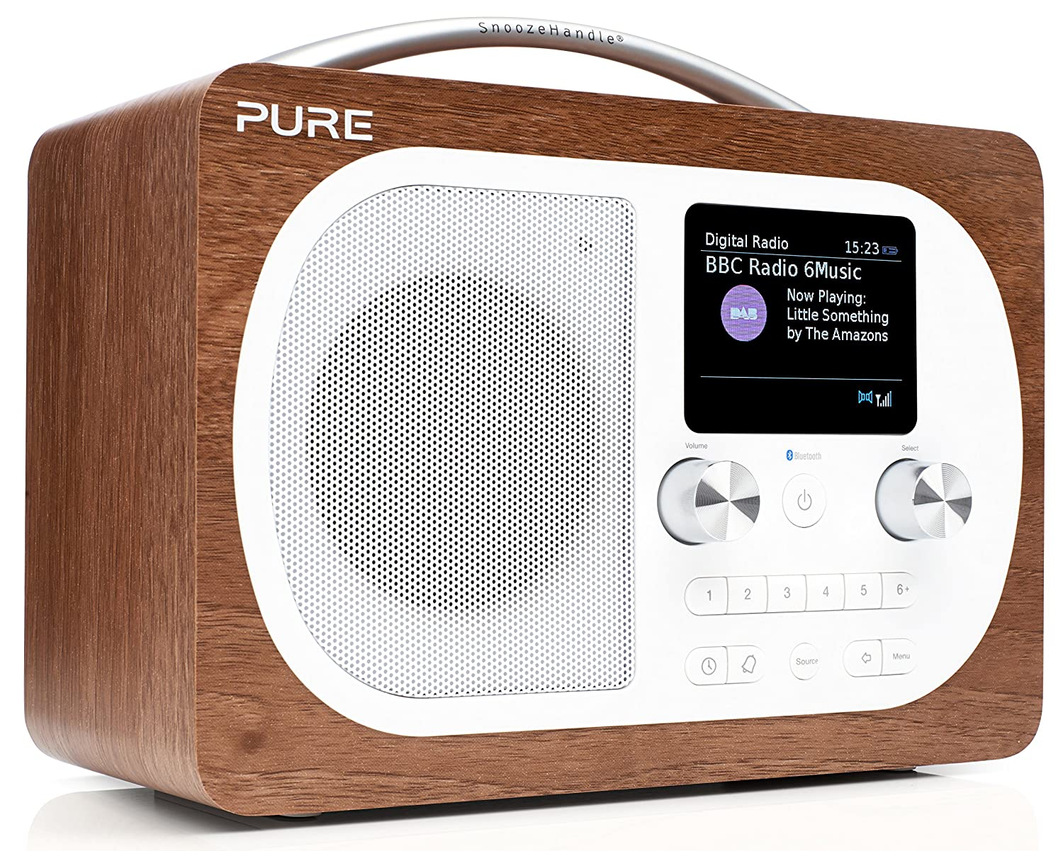 Pure Evoke H4 Radio (DAB/DAB+ Digital- und UKW-Radio mit Bluetooth und  Küchen-Timer) walnuss: Amazon.de: Heimkino, TV & Video