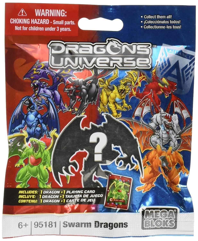 Mega Bloks Dragons Universe Series 2 Swarm Dragons Minifigure Mystery Pack #95181