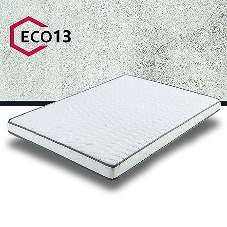 Due-home (Eco13) Colchón Juvenil ergómico Eco 13, 90x180